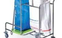 Waswagen, Wasverzammelaar, 1 Rings en Afvalzakhouder