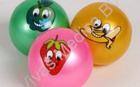 Speelgoed, Wiechen softballetje smiley, per stuk