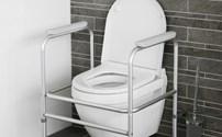 Toiletframe, In hoogte verstelbaar, Able2