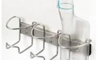 Urinaalhouder, Wandmodel, RVS, Geschikt voor 3 Urinaals