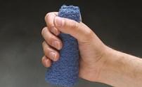 Handpalm Protector, Handkegel, Terry Cloth, Badstof, Klittenband