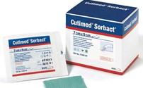 Wondverband, Kompres, Cutimed Sorbact, Non Adhesive, BSN, Steriel