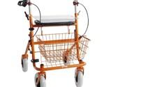 Rollator, Provo  Premis 2, Loophulpmiddel, Oranje