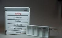Medicatie, Accesoires, Cassette, Medicijnbox 4 x daags 7 dagen, in praktische houder