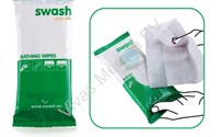 Disposable Washandje, Swash Platinum Wipes, Parfumvrij (8-pack), Arion