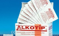 Disposables, Alcoholdeppers, Alkotip, Sachets, 70% Isopropyl