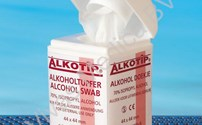 Alcoholdeppers, Dispenser met Alkotip, Sachets, 70% Isopropyl