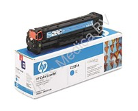 Toner, Hewlett Packerd, HP2320fxi, Orgineel, Cyaan (blauw)