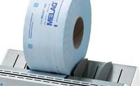 Apparatuur, Sealtoestel, Melag, Rolhouder Standaard voor MelaSeal 100