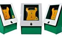 AED Kast Outdoor, Met Alarm en Slot, Defibtech