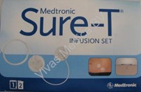 Diabetes, Insulinepomp Accesoires, Medtronic, Sure T infusieset, 6mm