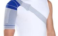 Fysiotherapie, Bandages-Spalken, Bauerfeind, OmoTrain S Titan, schouderbandage