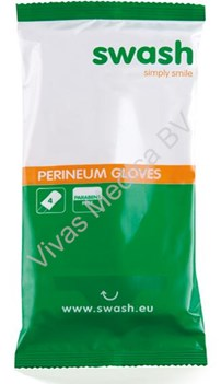 Disposable, Arion, Swash, 4 pack, Perineum Gloves