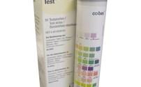 Urine Teststrips, Combur 9, Leuco, Nitriet, Ph, Proteine, Ketonen, Bilirubine en  Glucose, Roche
