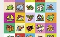 Speelgoed, beloningsstickers Kapstokstickers serie 321, 35 verschillende motieven
