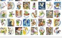 Speelgoed, beloningsstickers Dierenvrienden serie 100102.1, 40 verschillende motieven