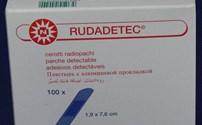 Detecteerbaar Pleister, HACCP Pleister, Rudatec