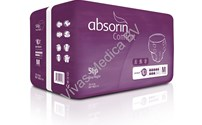 Incontinentie, Absorin Comfort Slip, Day-Night, 8 SDruppels, Absorin