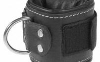 Fysio, Materialen, Ankle Strap, Lederen uitvoeren met klitteband, Afmeting: 33 x 10 cm