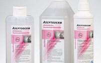 Desinfectiemiddel, Hand, ASeptoderm, Dr.Schumacher, tegen MRSA, HIV, TBC, NORO