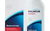 Balneum, bodylotion, kalmerend, vult het tekort aan huideigen lipiden aan