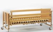 Bed, Bedhekverhogers, AKS, Voor H3/H4 bed, Ook voor andere bedden geschikt, Hout