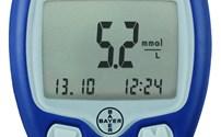 Diabetes, Glucosemeter, Contour TS, startset, Bayer