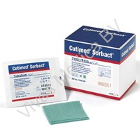 Wondzorg, Wondverband, Cutimed Sorbact, BSN, Steriel, Afmeting: 10 x 10 cm