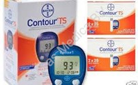 Diabetes, Glucoseteststrip, Contour TS, Bayer