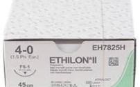 Hechtmateriaal, Ethicon, Ethilon II, Polyamid, Steriel, 4-0, Blauw monofil