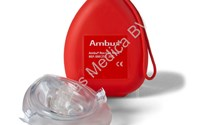 Pocket Masker, Beademingsmasker, Ambu Rescue Mask, Soft Case, Ambu