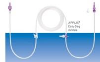 Voeding, Zwaartekrachtsysteem, Fresenius, Applix  Easybag mobile, Transitieset, ENFit
