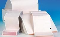 Apparatuur, ECG Papier, voor Welch&Allyn CP 50, Z-Vouw, 4 pakken