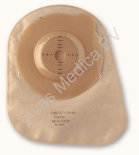 Stoma, 1 delig, Coolostomie, Colomate, Convex, Medium - Large