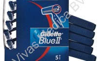 Disposables, Scheermesjes, Gillette Blue II, Dubbel Blads