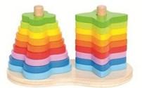 Regenboog Stapelvorm van Hape