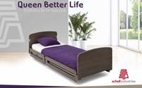 Hoog Laag bed, Schell Industries, model Queen