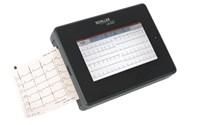 Apparatuur, ECG, Toestel, Schiller, Cardiovit MS 2007, compleet met toebehoren