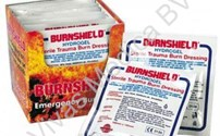 Brandwonden, Steriel Compres, Burnshield