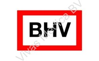 BHV Sticker, Pictogram, BHV