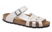 Schoenen, Birkenstock model Pisa, kleur: Pearl, normaal voetbed