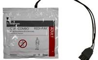 AED Pad, Elektrode, Volwassene, Geschikt voor  Physio Control Quick Lifepak