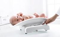 Babyweegschaal, Digitaal, Klasse lll Geijkt, Seca 384