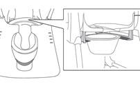 Stoelen, Accessoires, Etac, douchestoel, Clean, houder voor  toiletemmer