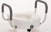 Douche-Bad hulpmiddel, Toiletverhoger, New York, Hoogte 10 cm, Max 150kg