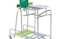 Waswagen, Wasverzammelaar, 2 Rings en Afvalzakhouder